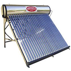 自然循環式太陽熱温水器サイフォン